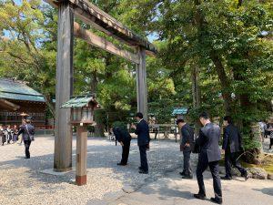 猿田彦神社参拝